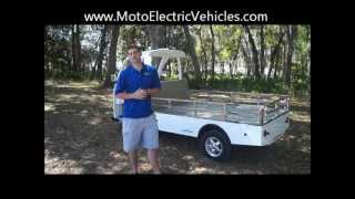 Electric Utility Cart | Citecar From Moto Electric Vehicles