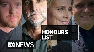 Australia Day honours go to A-listers, grassroots community leaders and rabbi | ABC News