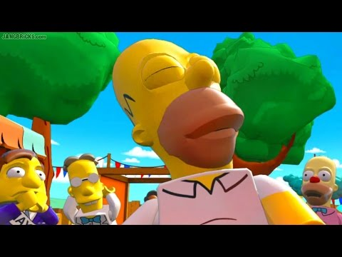 LEGO Dimensions 🎮 Simpsons Level Pack story insanity