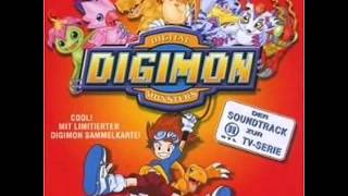 "Digimon Adventure 01 Soundtrack  11  ""Lass mich nicht allein"" German/Deutsch"