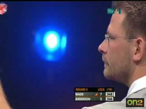 9 darter James Wade Grand Slam of Darts 2008