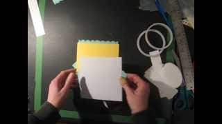 Part 2 - Tutorial Criss Cross + Slider + Easel Greeting Card