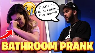 CRYING WITH THE DOOR LOCKED ON BIG BROTHER *cute reaction *