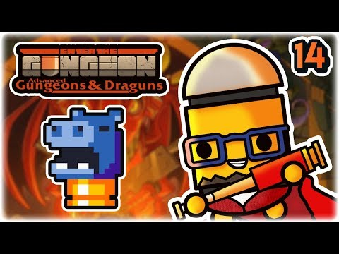 Hungry Bullets | Part 14 | Let's Play: Enter the Gungeon Advanced Gungeons and Draguns | AG&D