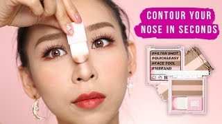Highlight & Contour Your Nose in Seconds! | Tina Tries It