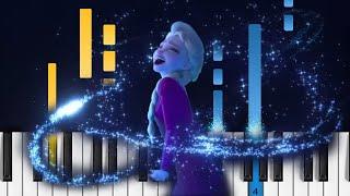 Frozen 2 - Into the Unknown - Piano Tutorial / Piano Cover