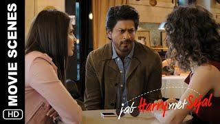 I am his girlfriend   Jab Harry Met Sejal   Movie Scene   Anushka Sharma, Shah Rukh Khan