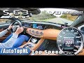YouTube Turbo MERCEDES S63 AMG Coupe 5.5 V8 BiTurbo 309km/h AUTOBAHN TOP SPEED by AutoTopNL