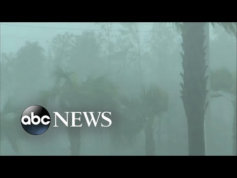 Hurricane Michael makes landfall