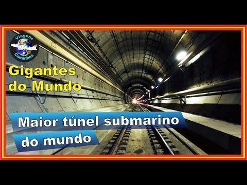 Eurotunel - Maior túnel submarino do mundo