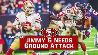Live: Jimmy Garoppolo Dominant vs Texans | 49ers Run Game Continues To Struggle