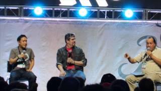 Comikaze Expo 2013 Comic Book Men Panel With Mike Zapcic, Ming Chen & Rob Bruce!