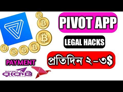Pivot app Leagal hacks   How Get More pivot   Tech Mushfik Pro