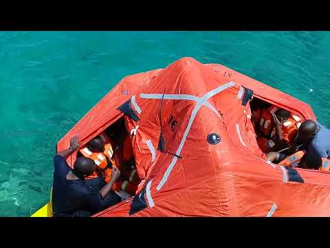 LJM Maritime Academy Life Raft Essentials