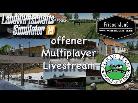 Offener LS19 Multiplayer Livestream