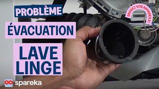 Comment réparer votre lave-linge : résoudre les problèmes d'évacuation