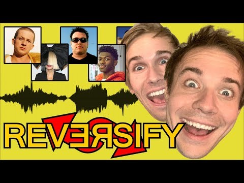 BACKWARDS SINGING CHALLENGE! #Reversify (Feat. Baasik)
