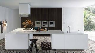 Интерьеры кухни в современном стиле (39 фото)
