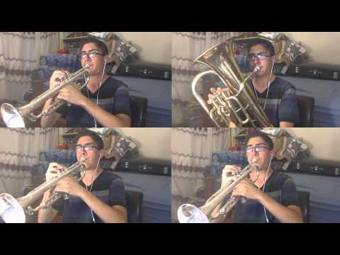 Jeopardy Theme Song - Trumpet/Baritone Cover