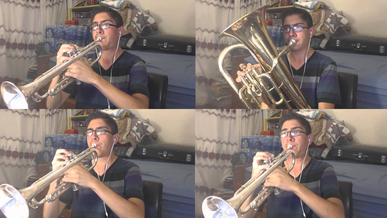 Jeopardy Theme Song Trumpetbaritone Cover Youtube