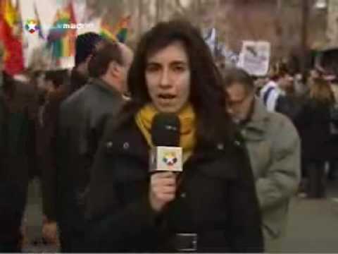 Manifestación En Apoyo A Israel  Y Contra Hamás