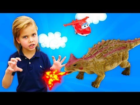 Динозавры Коллекта (Collecta)— Большая распаковка игровых наборов — Как оживить динозавров? Легко!