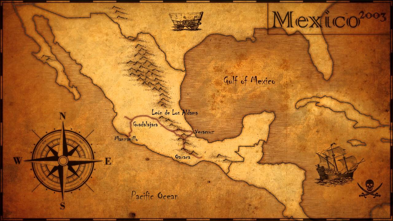 map mexico youtube
