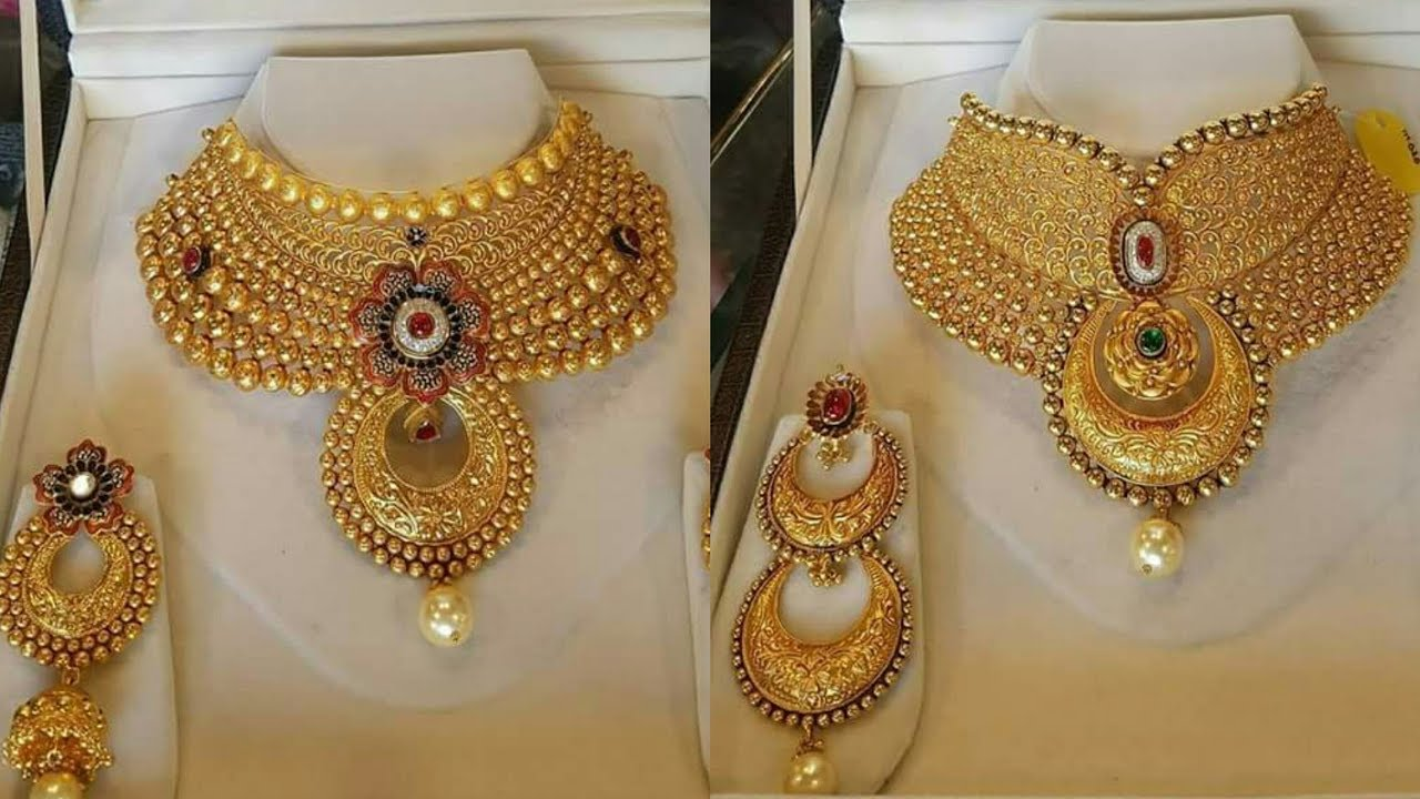 sets khazana designs collections bridal gold jewellery