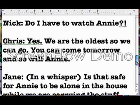 A Christmas Story Script Preveiw! - YouTube