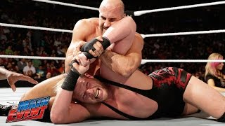 Jack Swagger vs. Cesaro: WWE Main Event, February 21, 2015