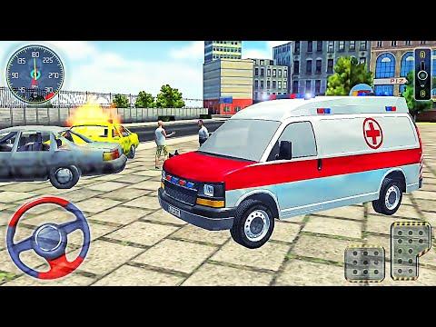 Ambulance Driver Job Simulator #2 - New First Van Truck (2020) - Best Android Gameplay  