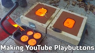 Video Making 'Gold' YouTube Playbutton download MP3, 3GP, MP4, WEBM, AVI, FLV Oktober 2018