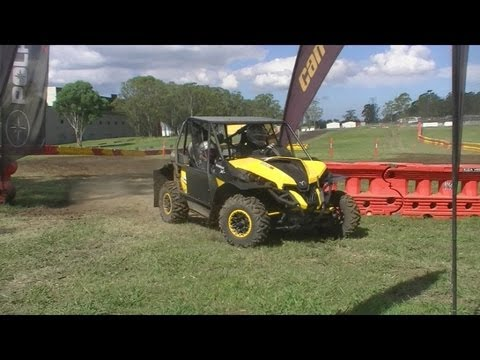 top gear festival sydbey 2013 rally school can am buggy youtube. Black Bedroom Furniture Sets. Home Design Ideas