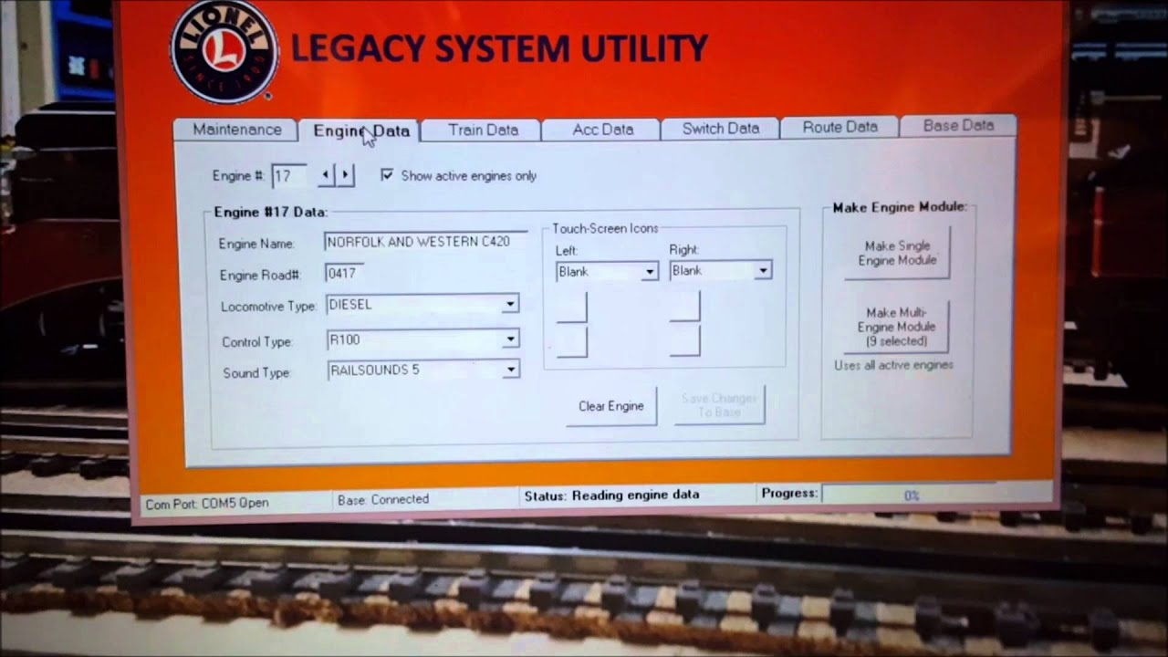 Lionel Legacy Wiring Schematic Diagrams Train Track Writable Module Youtube
