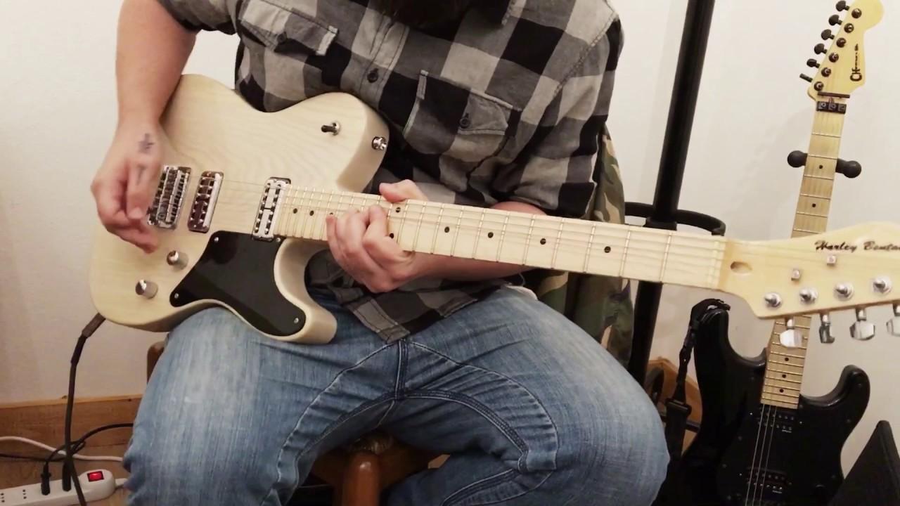 Guitar Demo - Harley Benton TE-90 FLT by Dave Swan