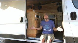 Final Walkthru of My Promaster Van Conversion