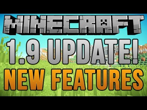 Minecraft: 1.9 UPDATE | New Ores, New Mobs, & MORE