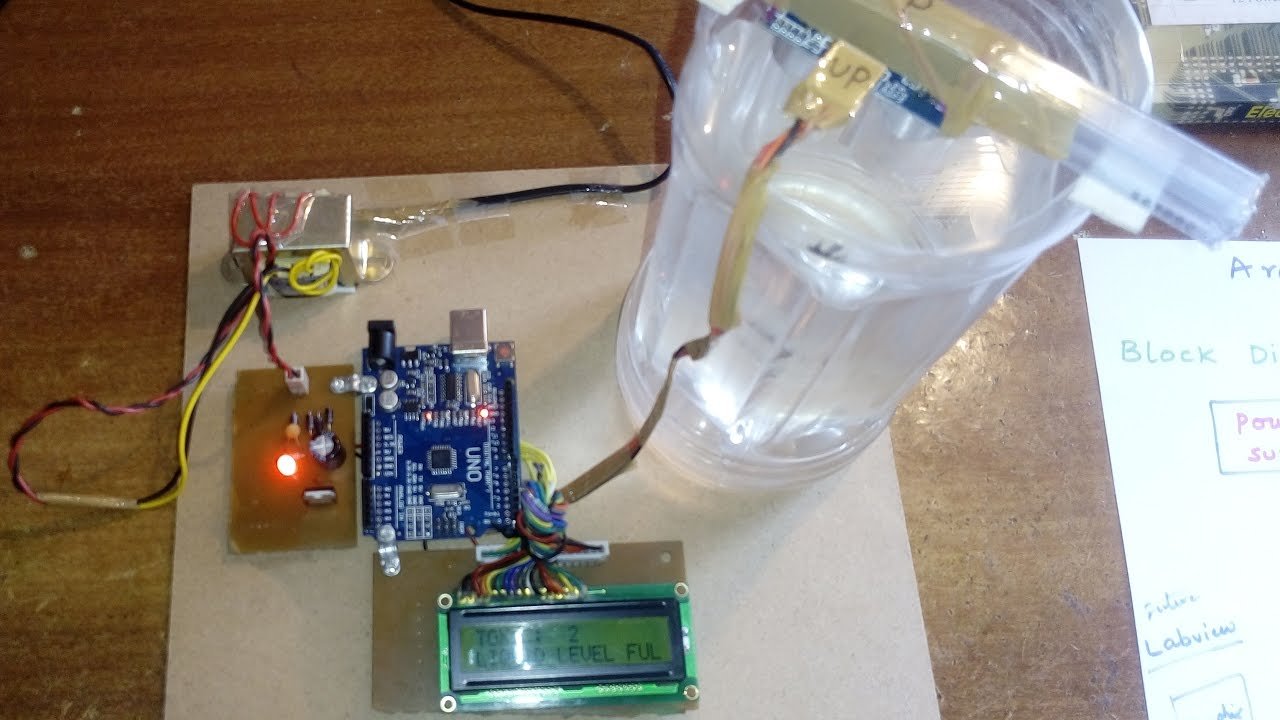Microcontroller Based Toxic Liquid Level Monitoring Control System Basics Updated Using An Accelerometer With Avr