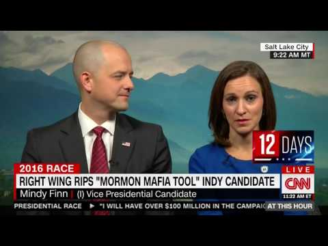 Evan McMullin and Mindy Finn Discuss Attacks From Trump Boosters and the Surge of Support in Utah