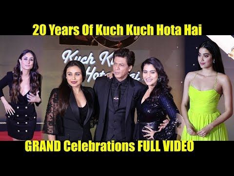 20 Years Of Kuch Kuch Hota Hai GRAND Celebrations FULL VIDEO | SRK, Kajol, Rani, Kareena, Jhanvi Mp3