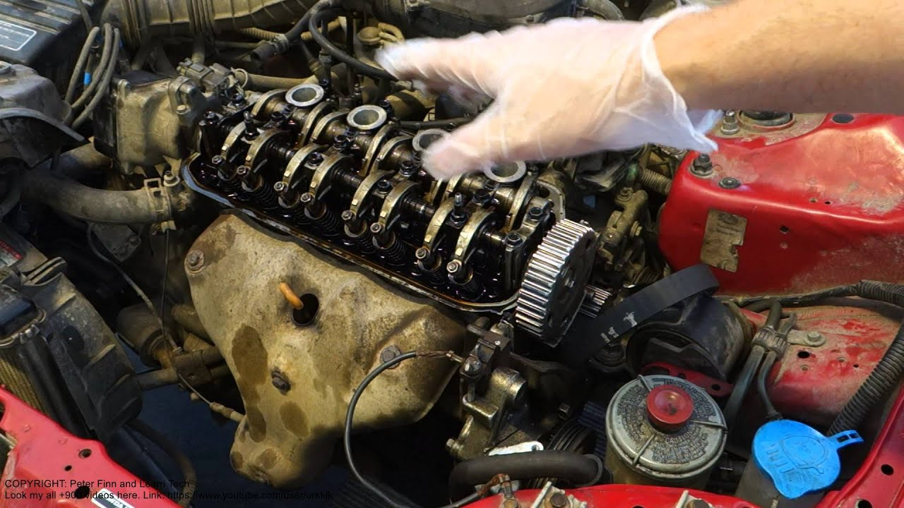 Test Start Without Timing Belt And How It Happens In Car Youtube Pontiac