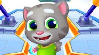 Talking Tom Hero Dash Walkthrough Gameplay Part 1 - Super Tom (iOS, Android) screenshot 4