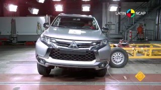 Download Video LATIN NCAP - Mitsubishi Montero Sport + 3 Airbag / 5 star safety rating MP3 3GP MP4