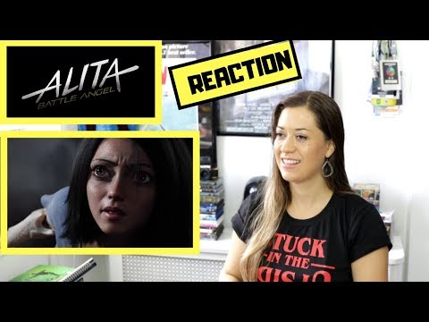 Alita: Battle Angel Trailer#3 REACTION