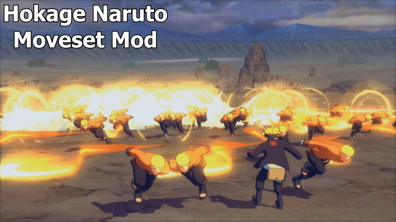 Naruto Ninja Storm 4 Road to Boruto PC MOD 60 FPS - Full Power Hokage  Naruto Moveset Mod Gameplay