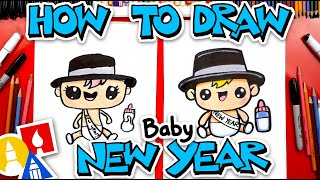 How To Draw Baby New Year