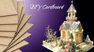 How To Make a Small Cardboard Church