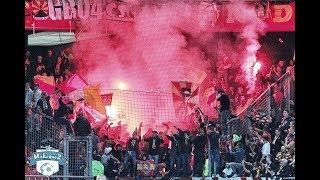 Ambiance  valenciennes - lens : ambiance de feu malgré la défaite