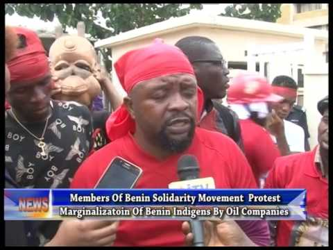 Group protests marginalization of Benin indigenes by oil companies