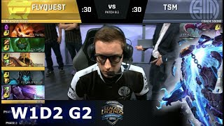 Video FlyQuest vs TSM | Week 1 Day 2 of S8 NA LCS Spring 2018 | FLY vs TSM W1D2 G2 download MP3, 3GP, MP4, WEBM, AVI, FLV Juni 2018